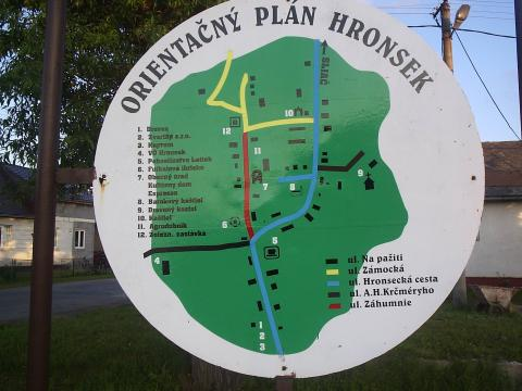 18 Orientačný plán obce