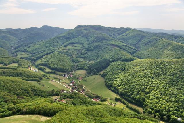 38 Letecký pohľad na obec