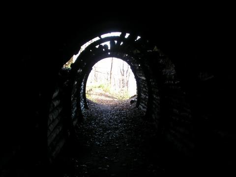 30. Tunel na hrebeni Kremnic. vrchov