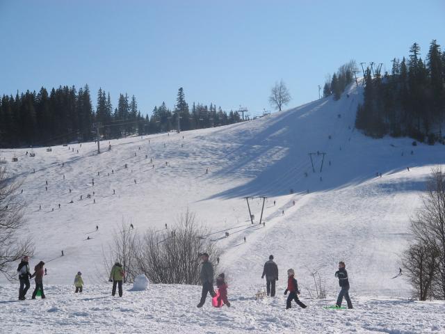 008 Záhradište - lyžiarsky svah