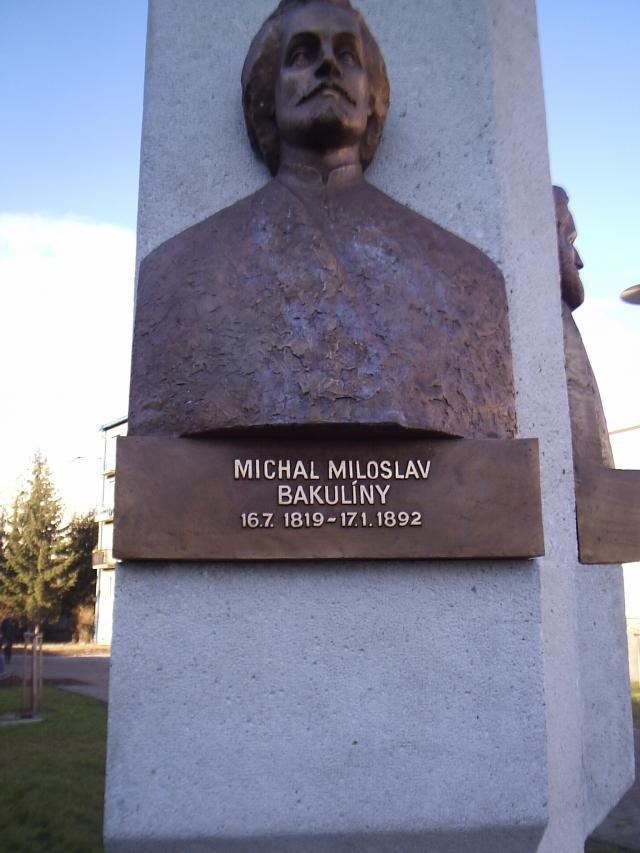 15 Reliéf Michala Miloslava Bakulínyho