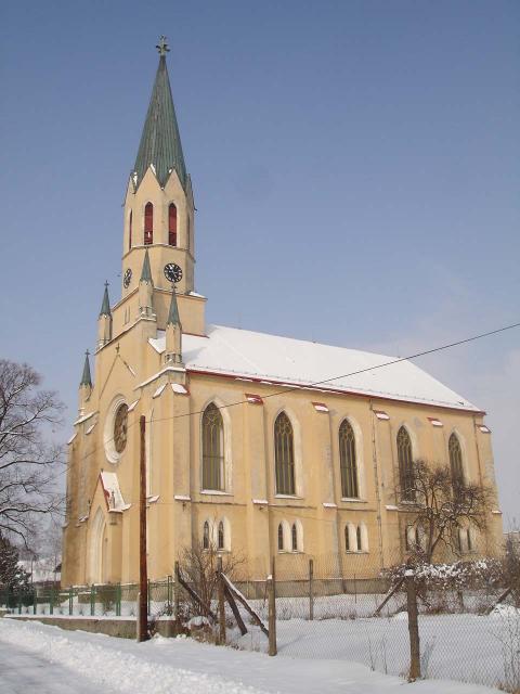 Evanielický kostol augsburského vyznania v novogotickom štýle