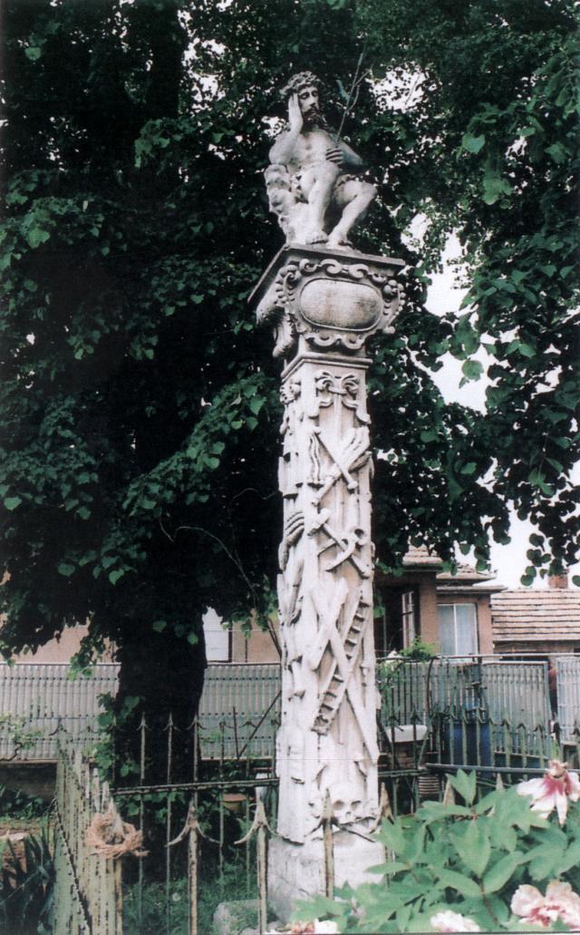 Socha Krista Kráľa z roku 1678