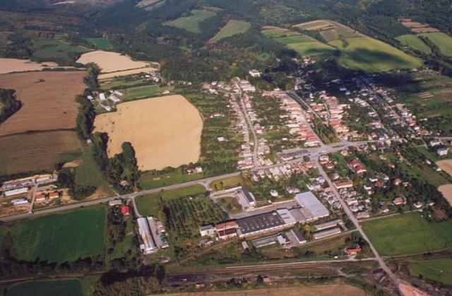 16 Letecký pohľad na obec