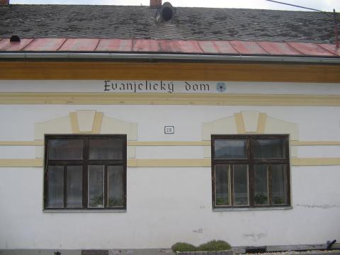 17 Evanjelický dom