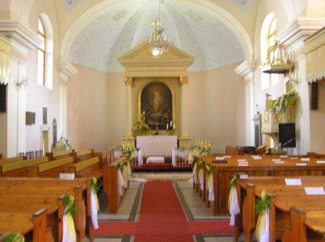 03 Interiér kostola