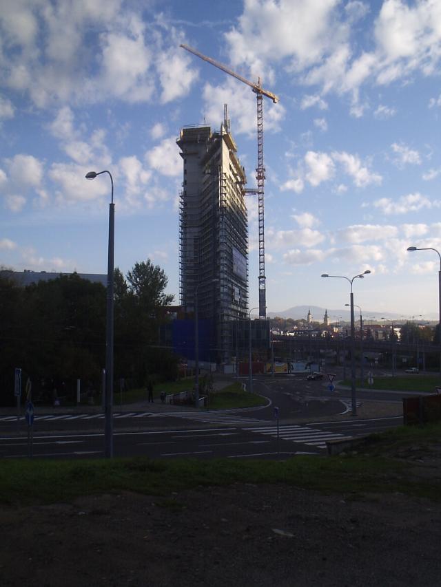 44 Výstavba EUROPA BUSINESS CENTER