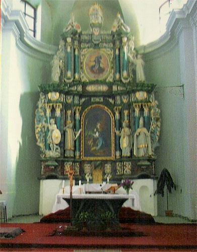 18 Vyšnomedzevský oltár