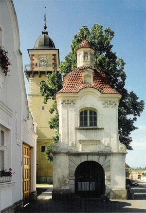 13 Kaplnka sv. Jána Nepomuckého, Kostol sv.Martina