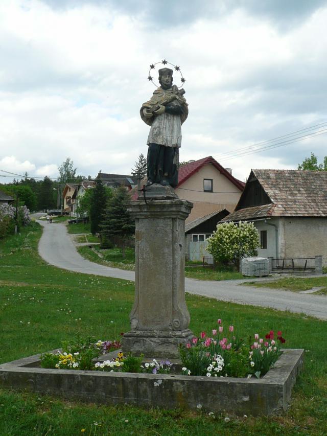 07 Stĺp sv. Jána Nepomuckého