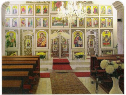 09 Interier greckokatolickeho kostola