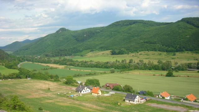 20a Výhľad z Ľupčianskeho hradu