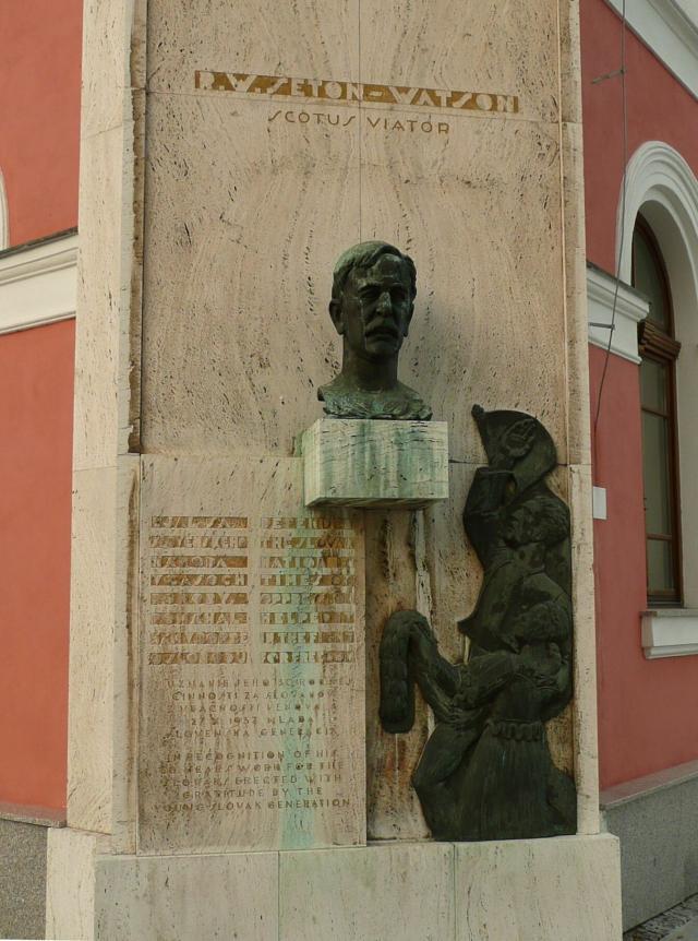 06 Pomník R.W.Setona-Watsona (Scotus Viator)