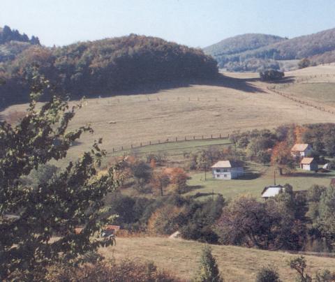 01 Pohľad na dedinu