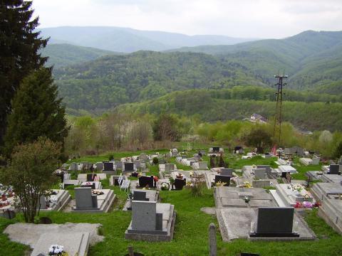 Cintorín - Železník
