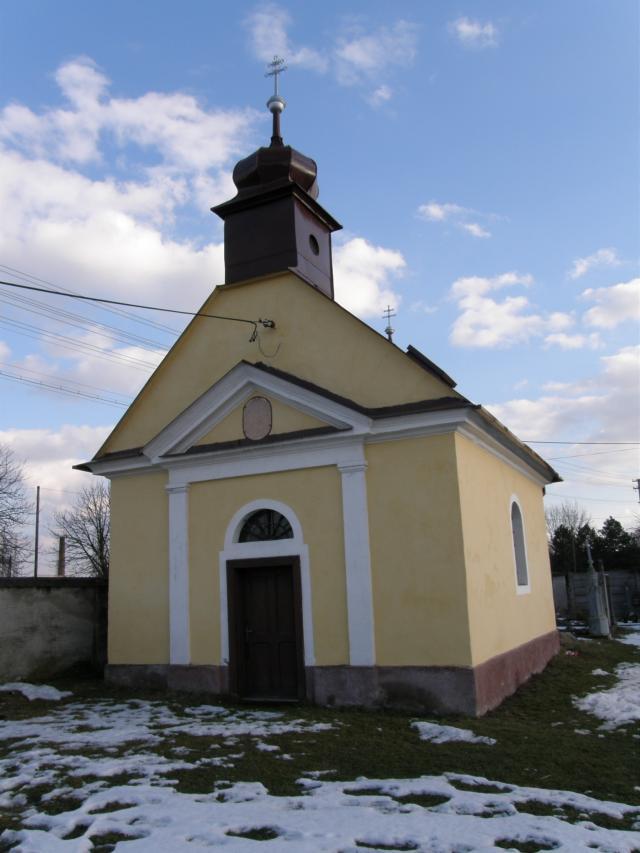 43 Kaplnka na cintoríne