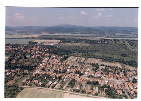 01 Letecký pohľad na obec