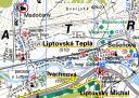 Liptovská Teplá - Mapa okolia